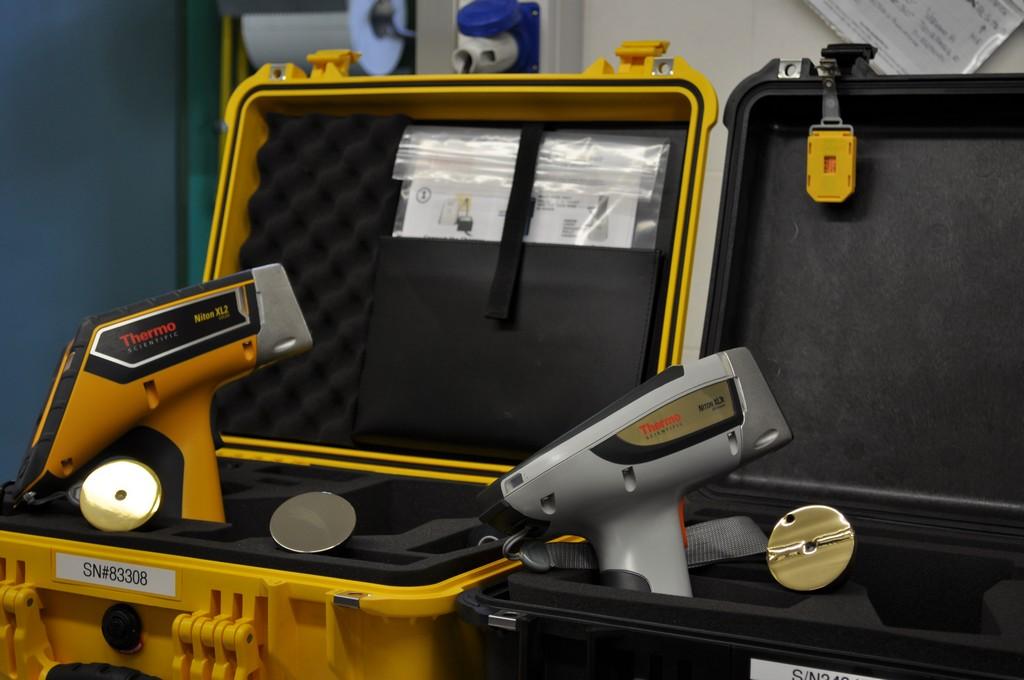 Immagine pistola per analisi